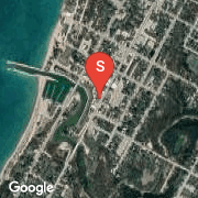 Satellite Map of 742 Queen Street, Kincardine, Ontario